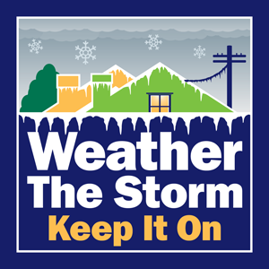 Weather the Storm, Keep it On - Logo